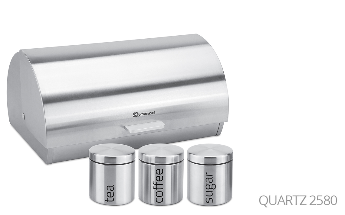 Sq Professional -  Gems Range - Bread Bin & Canisters Set colour 1