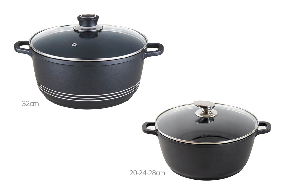 Sq Professional - Nea Seramiq - Stockpot Medium - Black