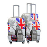 Sq Professional hard shell luggage sets