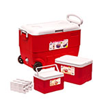 Sq Professional ON THE GO - ICE CHESTS -  WITH WHEELS